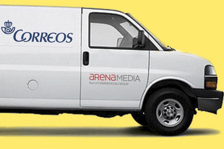 Correos confía en Arena Media para gestionar su estrategia de comunicación y compra de medios