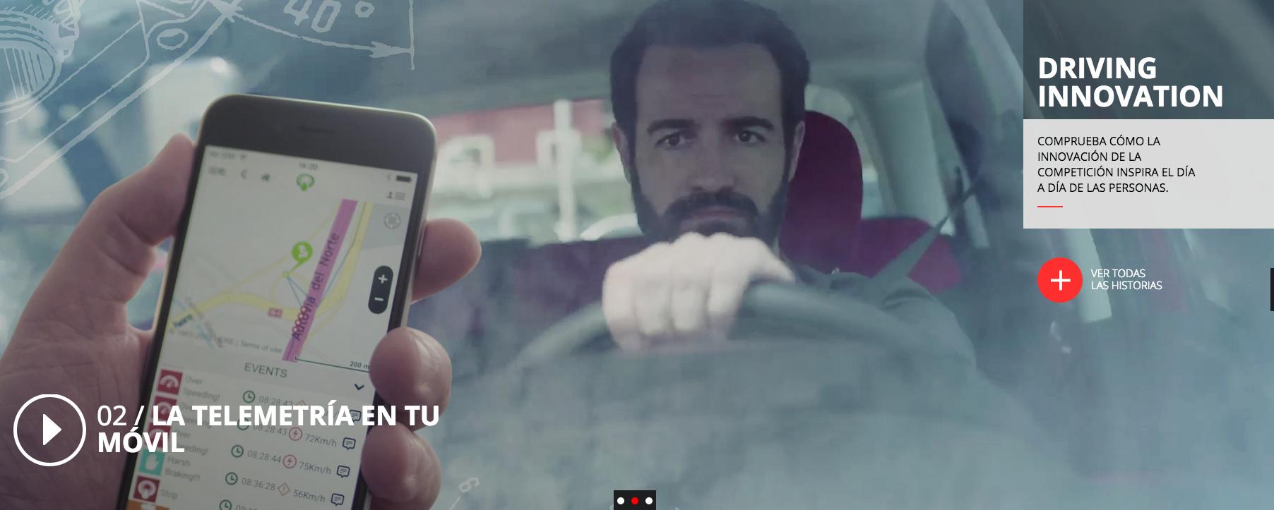 """""""Driving Innovation"""" Havas Worldwide y Arena Media activan el patrocinio de la F1 de Banco Santander"""
