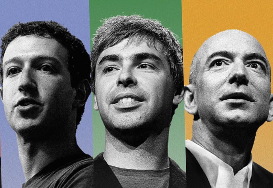Lucha de gigantes. Google, Facebook y ahora… Amazon