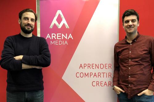 Pablo Torres y Robert Hernández, Transmedia Strategist en Arena Media