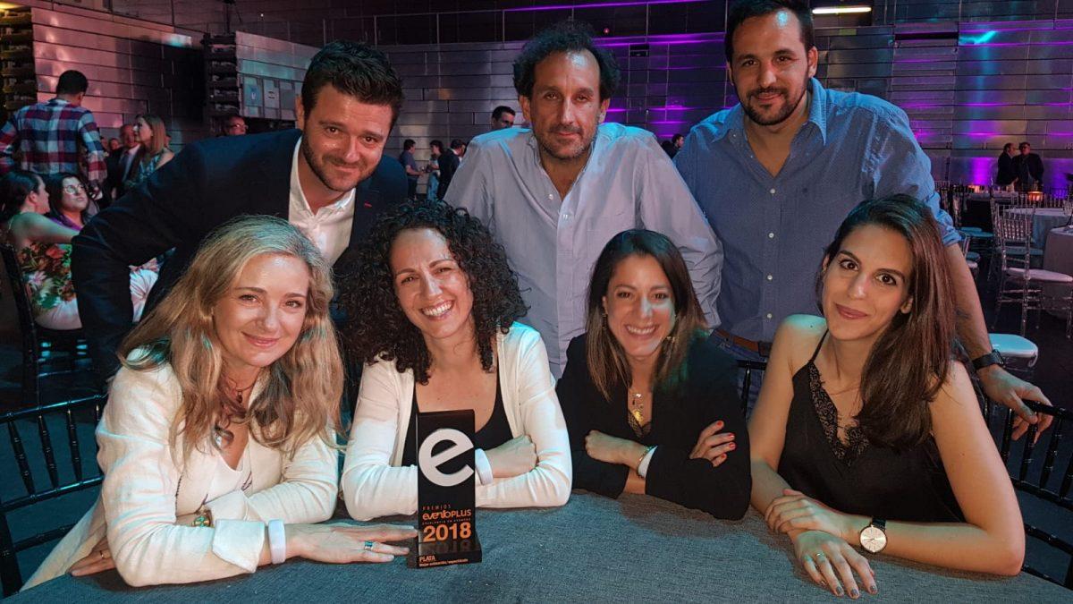El Departamento de Envíos Extraordinarios de CORREOS y Arena Media junto con Glow galardonado con un premio de plata Eventoplus 2018