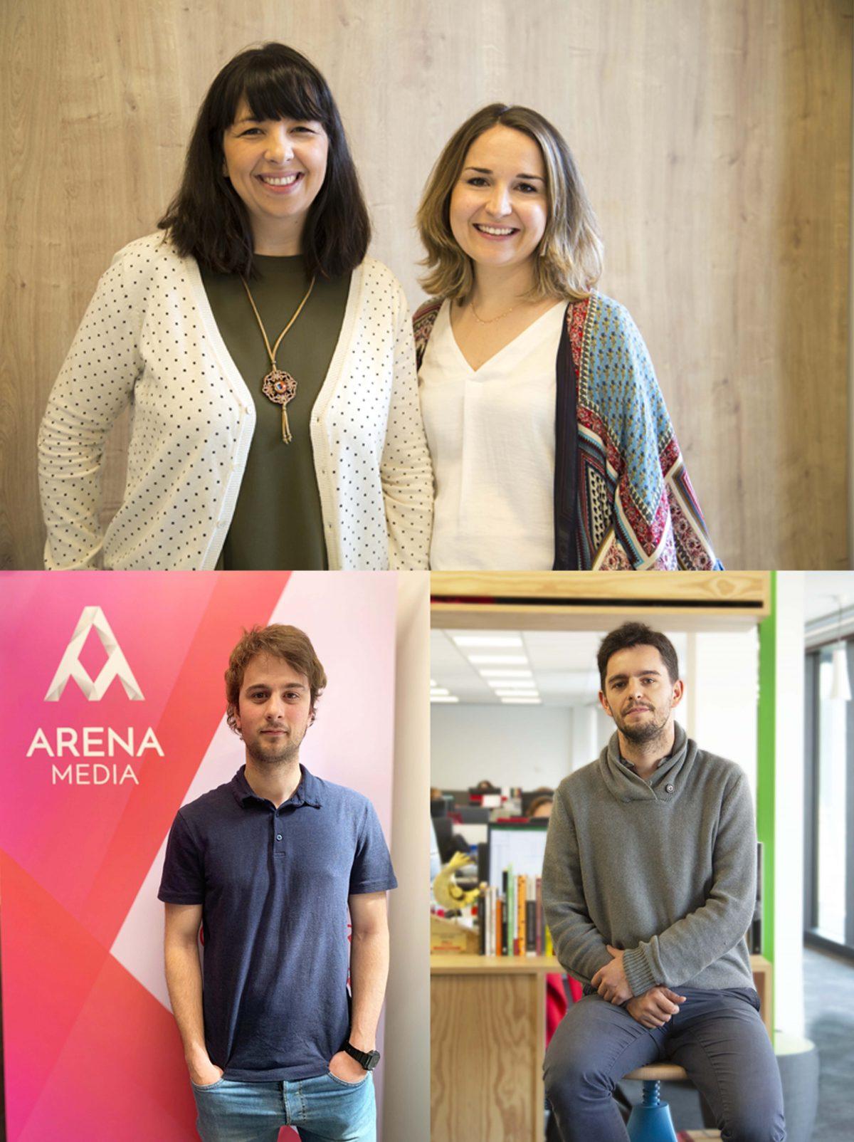 Arena Media refuerza el área de investigación con los nombramientos de Laura Riestra y Clara Serrano como Directoras de Research & Insights en Madrid y Barcelona