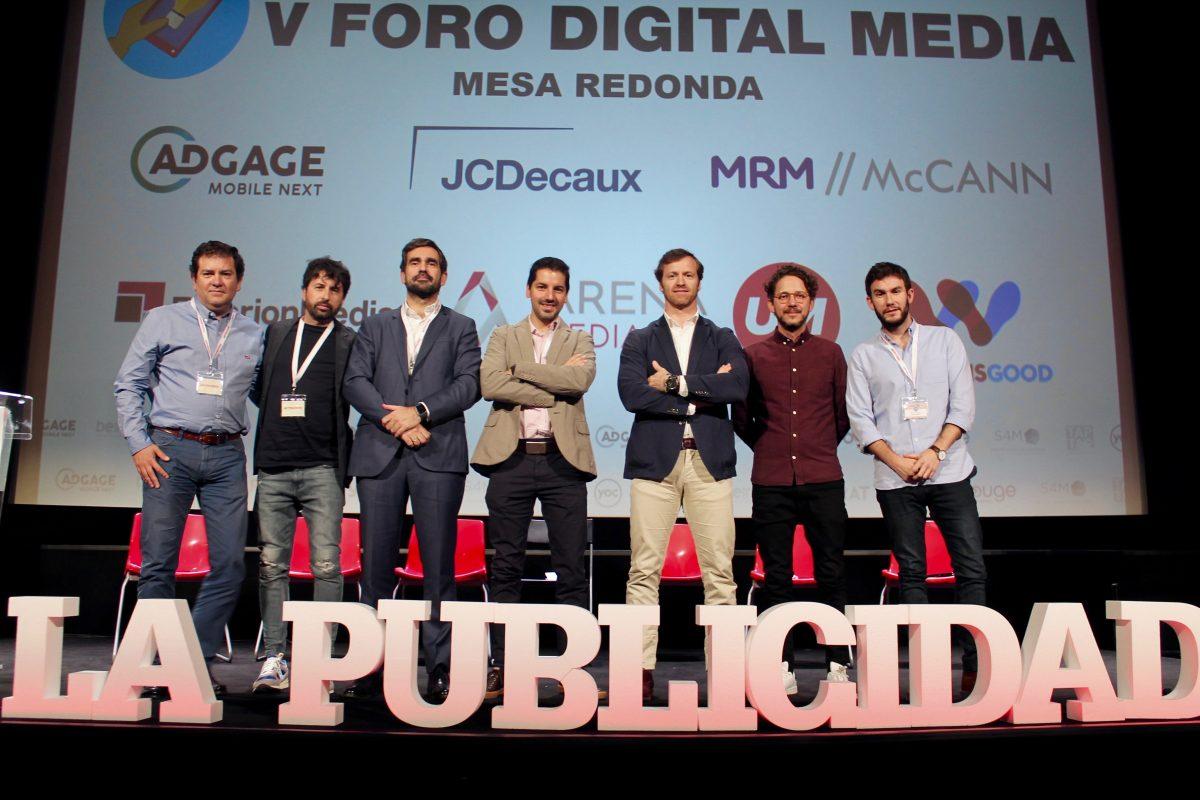 Traver Pacheco participa en la mesa redonda del Foro Digital & New Media de La Publicidad