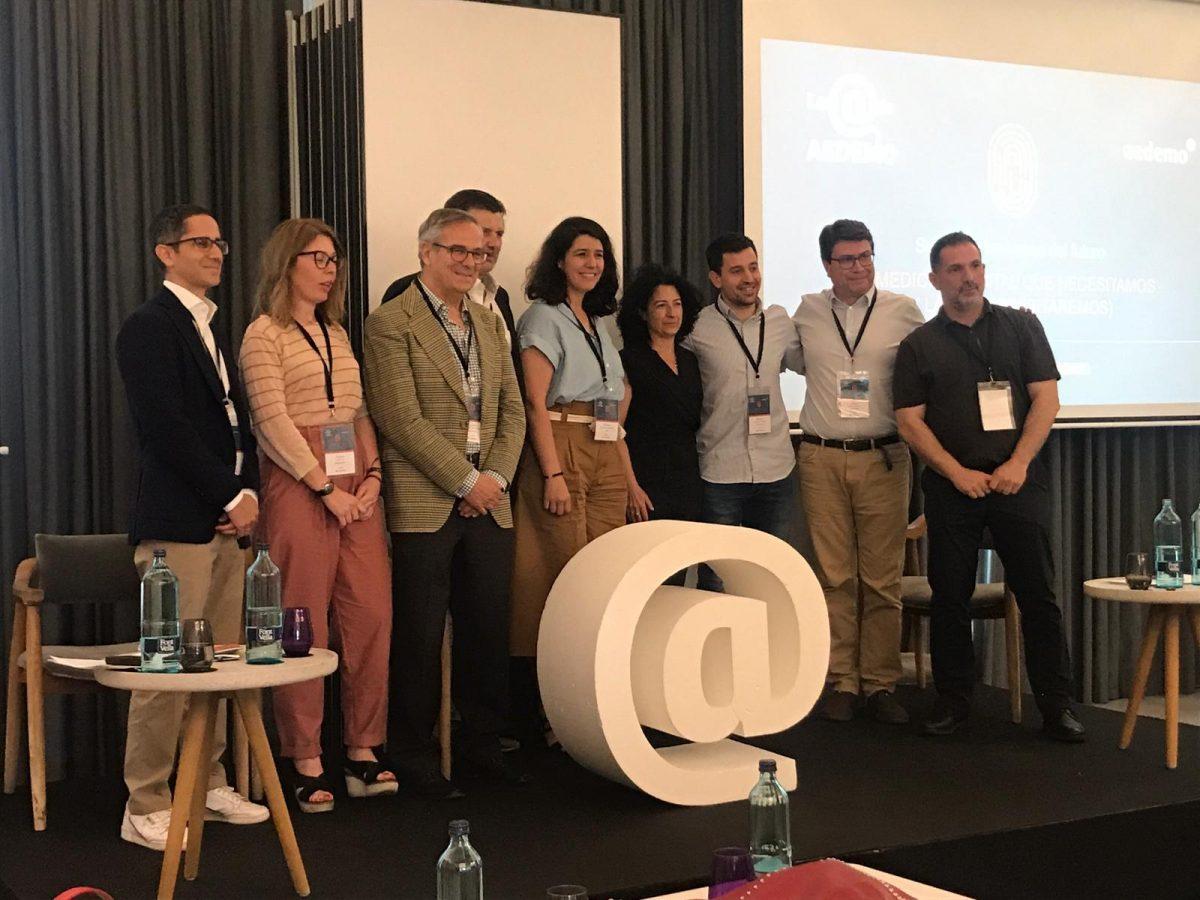 Marga Ollero participa en la mesa redonda de AEDEMO sobre medición digital