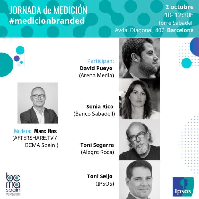 David Pueyo participará en la Jornada sobre Medición de la BCMA e IPSOS