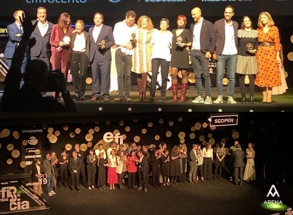 Arena Media gana 2 Premios Eficacia de la mano de Estrella Damm y AXN
