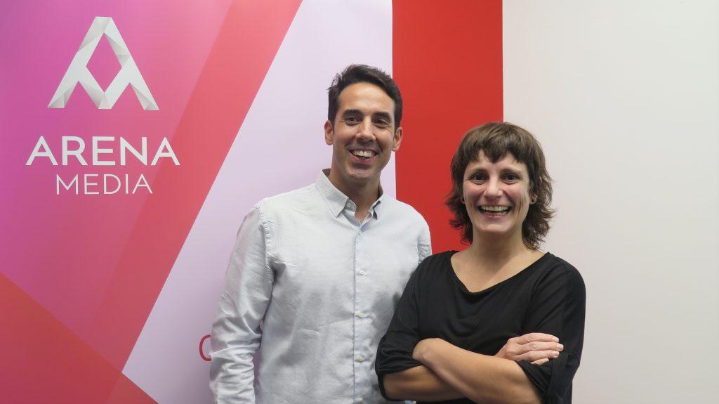 Alberto Souto y Marta Fabra, Arena Media