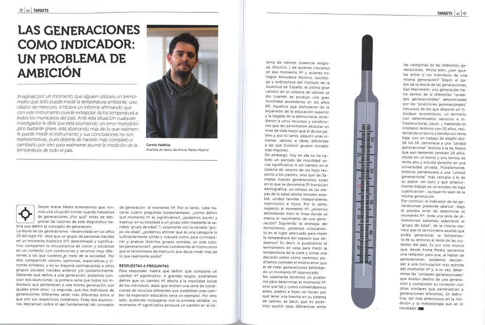 Las generaciones como indicador: un problema de ambición, por Carolo Valdivia