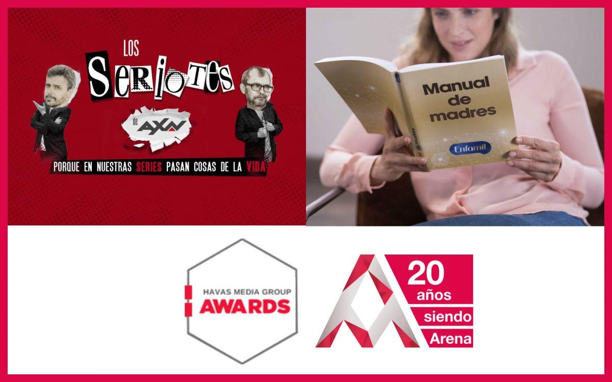 Arena Media gana un Oro y una Plata en los Havas Media Awards 2019