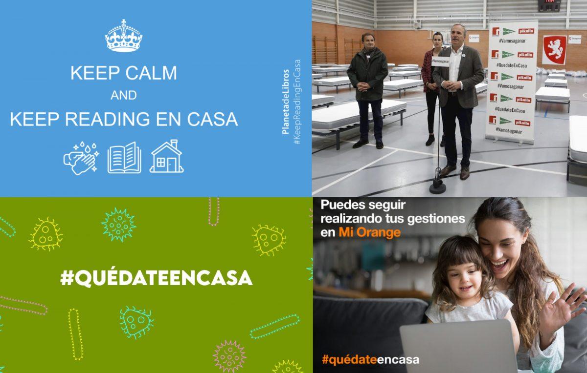 Las iniciativas de Banco Santander, Grupo Damm, Naturgy, Orange, Correos, DKV Seguros, Grupo Planeta y Pikolín en la crisis del COVID19