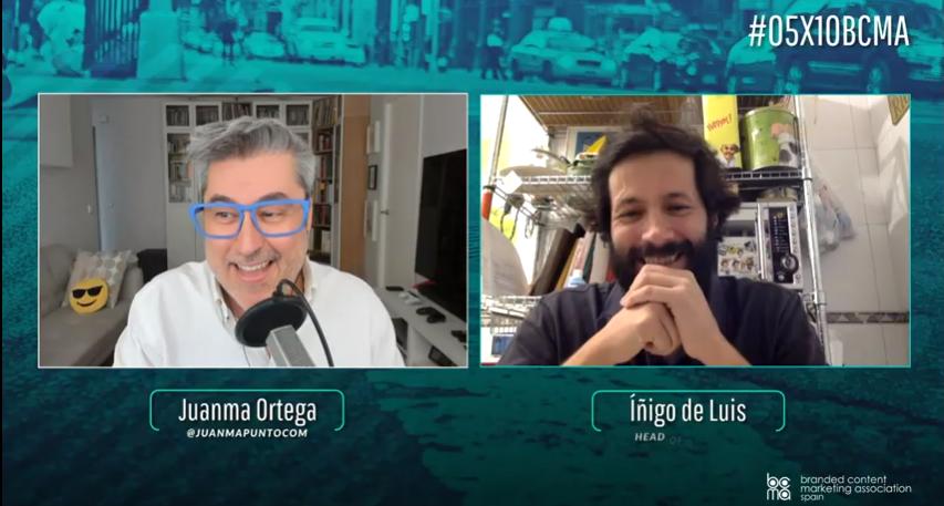 Íñigo de Luis presenta el branded content #DominosOriginals en #05x10BCMA