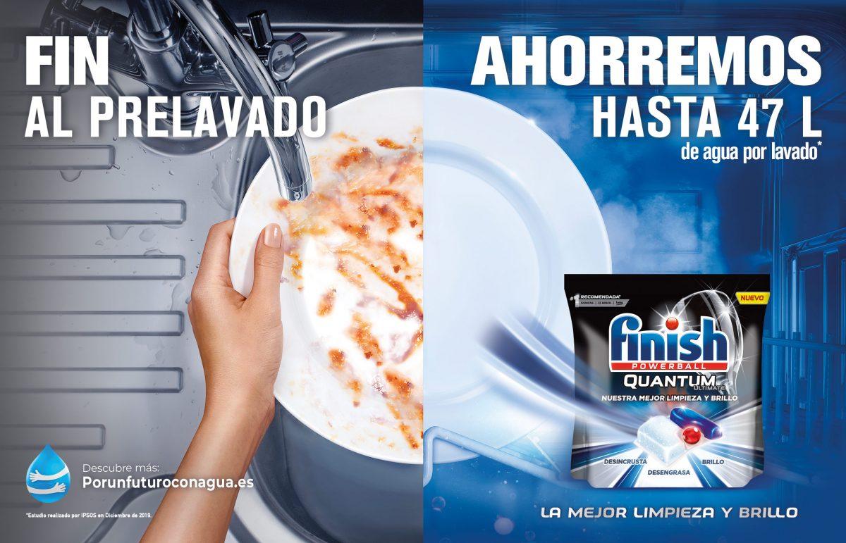 Finish y Arena Media lanzan la campaña #PorUnFuturoConAgua para concienciar sobre el problema de la escasez de agua