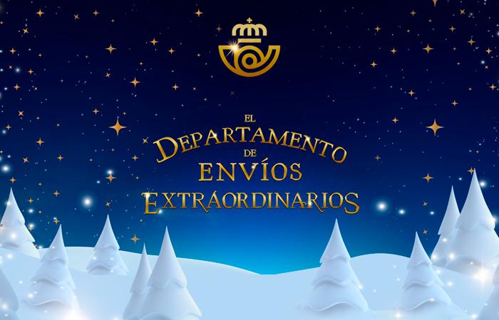 Vuelve El Departamento de Envíos Extraordinarios de Correos y Arena como cada Navidad