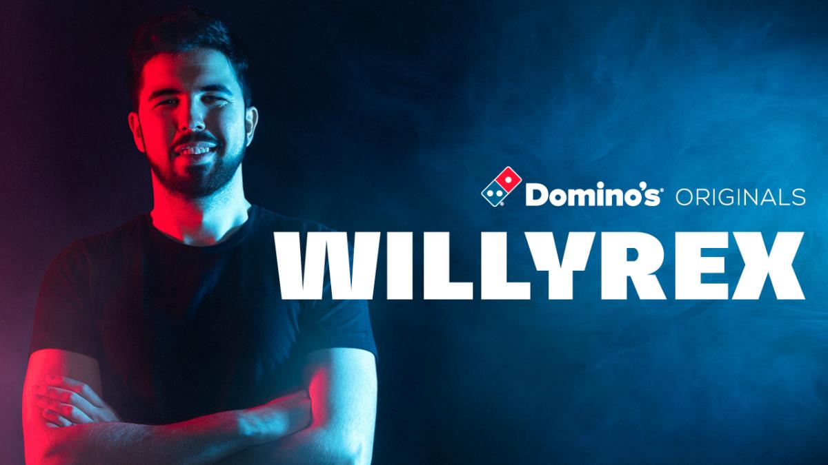 La tercera entrega de Domino's Originals, protagonizado por Willyrex, supera los 2,5M de visualizaciones en 48 horas