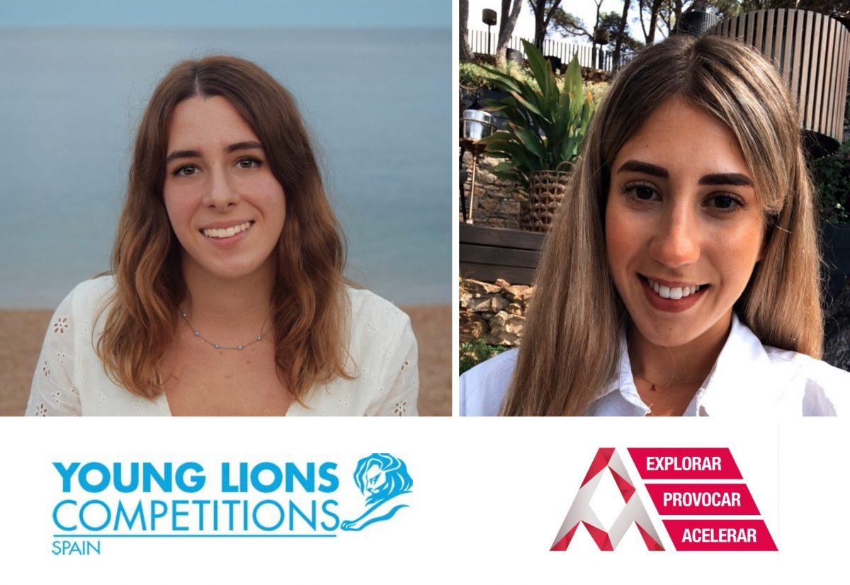 Tatiana López y Andrea Granado, de Arena Barcelona, son finalistas de los Young Lions Media