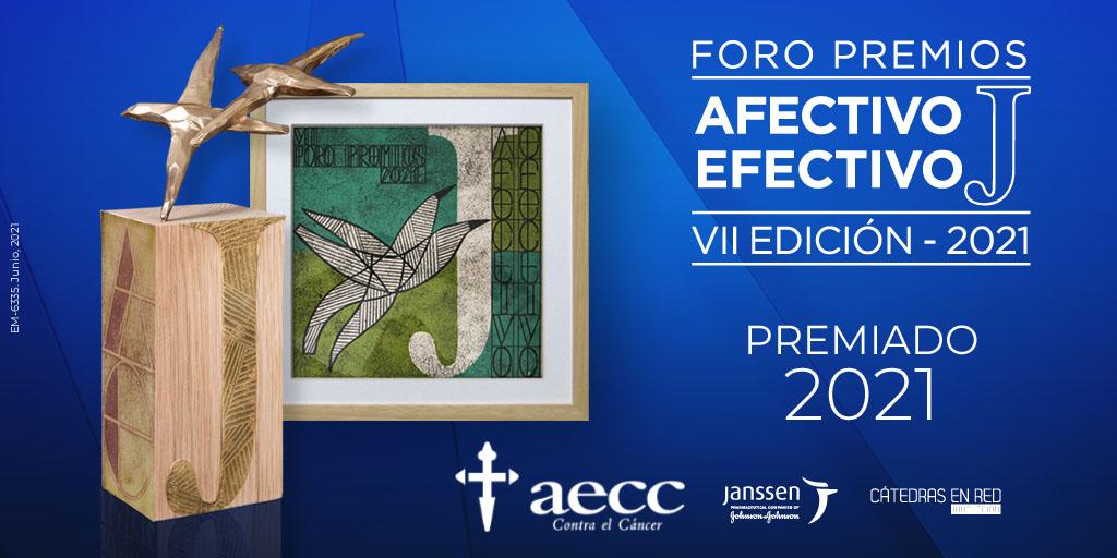 Llámalo Cáncer, de la AECC y Arena, gana el Premio Afectivo-Efectivo de Janssen